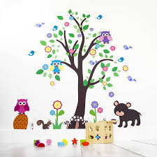 unique kids bedroom tree crystal stereo wall stickers living room sticker o for idea kids bedroom tree