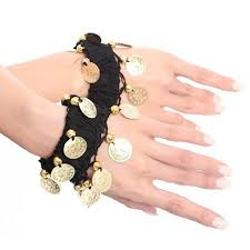 amazon com bellylady belly dance wrist ankle cuffs bracelets