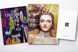 fifth avenue catalog sales saks takes on the neiman christmas book with its own luxury