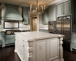 Traditional Kitchens With White Cabinets - cabinets kaitlyn traditional kitchen with light green cabinets