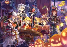 halloween scene wallpaper red u0027s hall halloween 4200x2968 hd wallpaper from gallsource com