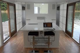 Door Bars For Laminate Flooring Sumptuous Formal Houseboat Interior Design Showcasing Modern