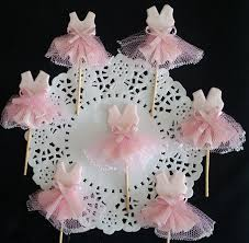 tutu themed baby shower tutus cake toppers baby shower favor baby shower tutus baby