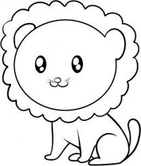 draw draw lion kids hellokids