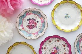 wedding plates for sale sale 12 floral tea party paper plates parisian bridal shower