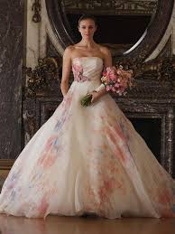 coloured wedding dresses uk romona keveza 2016 wedding dresses 2016