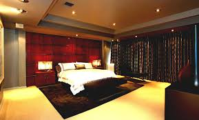 bedroom ideas awesome cool red paint accent wall colors schemes