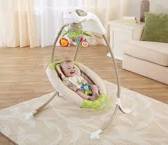 Amazon Baby Swing Chair Amazon Com Fisher Price Deluxe Cradle U0027n Swing Rainforest