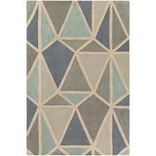 Modern Rugs Reviews Modern Rug Oasis Oas 1116 White Geometric Rug Area Rugs