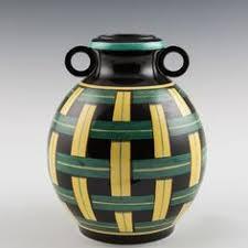 Czechoslovakia Vase Bihl Czechoslovakia Vase Luster C 1930 Art Deco Era Glass And