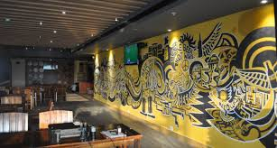 shraddha trivedi wall mural artist graphic designer i illustrator brewhouse wall mural pune india