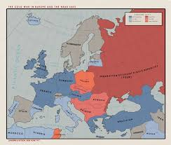 Cold War Europe Map by Ns Alternate Cold War 1977 By Paramountica On Deviantart