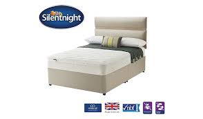 Silent Night King Size Bed Base Silentnight Miracoil Superior Divan U0026 Headboard King Size