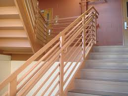 Design For Staircase Railing Stairs Glamorous Wood Railing Designs Captivating Wood Railing
