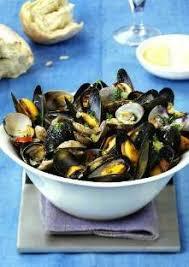 cuisiner des palourdes moules et palourdes marinières