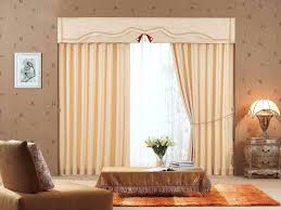 bold patterned curtains like a bright piece of contemporary art