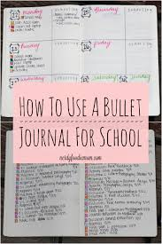 how to use a bullet journal for bullet journaling can