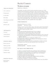 restaurant server resume server resume template free free server resume exle restaurant