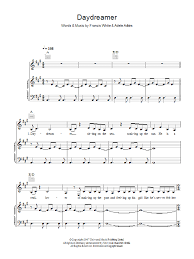 wedding dress chords piano daydreamer sheet direct