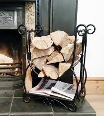 fireplace log rack home fireplaces firepits fireplace log