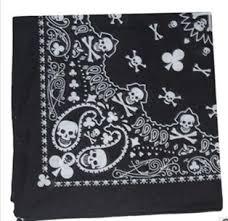 bandana wristband 2017 fashion paisley skull scarf wrap 100 cotton bandana