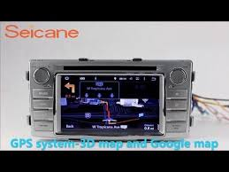 2012 toyota hilux radio dvd player gps navigation system with 3g