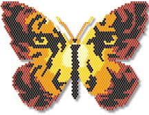 tiger butterfly by megan s beaded designs use this beautiful