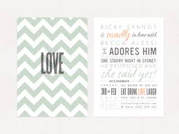 Engagement Party Invites Our Engagement Party Invitations U2013 Ricky Synnot