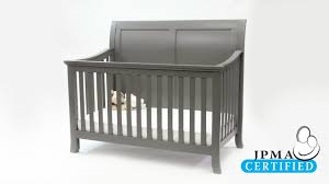 3 in 1 convertible crib baby relax hollis 4 in 1 convertible crib youtube