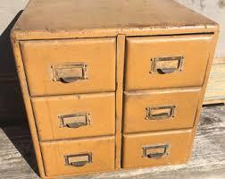 Antique Wood File Cabinet Rolling Wood File Cabinet File Crate File Organizer Office