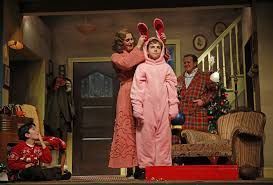 review u0027christmas story the musical u0027 laughs and loves in aurora