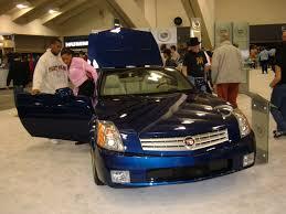 car picker blue cadillac xlr