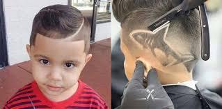 model rambut anak cowo model rambut anak laki laki kekinian yang tan dan menggemaskan