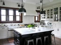 black and white kitchen cabinets designs our favorite black and white kitchens on instagram hgtv