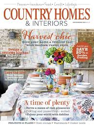 homes and interiors magazine country homes interiors magazine september 2015 cover