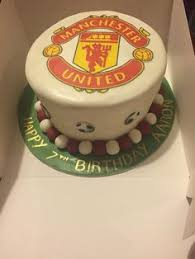 manchester united cake manchester united