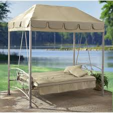 Outdoor Swing With Canopy Futon Patio Swing Roselawnlutheran