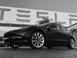 the first production tesla model 3 pictures business insider