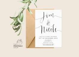 wedding invitations printable printable engagement invitation printable wedding invitation