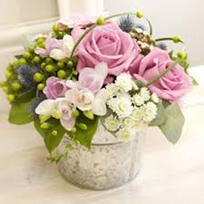 small table pink flower arrangements pink flower arrangement