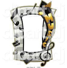 music notes corner border clipart panda free clipart images