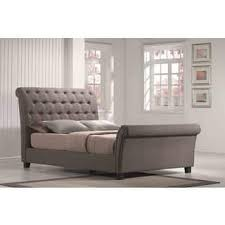 Grey Sleigh Bed Sleigh Bed Grey For Less Overstock