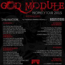 tour information god module prophecy tour 2015 with die sektor