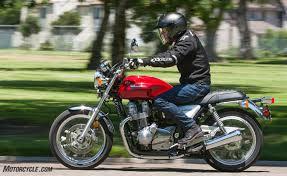 Comfortable Motorcycles 2017 Honda Cb1100ex Review Motorcycle Com