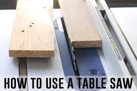 can you use a table saw as a jointer how to use a table saw power tools 101 jpg