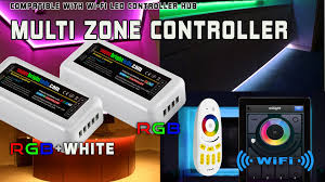 Led Light Strip Controllers by Smartphone Or Tablet Wifi Compatible Led Color Changing Rgb Multi