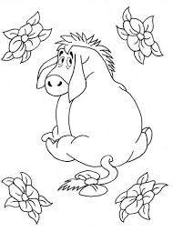 eeyore coloring page free printable eeyore coloring pages for kids