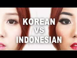 korean vs indonesian makeup makeup tutorial littlemissboo you