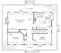 porch house plans plan w59463nd stately southern design with wrap around porch e