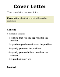 2 cover letter presentation